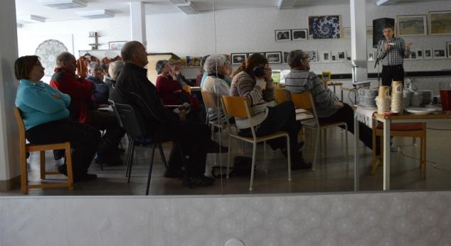 Mycket intressant föreläsning av Bosse Johansson på Studieförbundet Vuxenskolan.