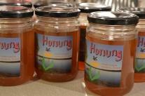 Min första honung. Made in Boheden.