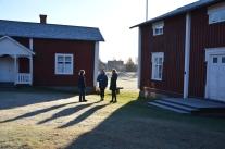 Hemslöjdskonsulenterna i Norrbotten laddar inför Kulturhuvudstadsåret i Umeå 2014.