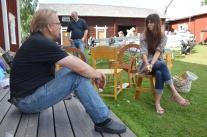 Håkan och Erika, gillar hantverk.