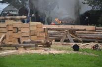 Helt otroligt livat på Vippabacken på fredagen under Hantverksveckan.