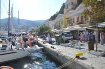 Segling i Grekland.