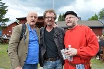 Spelmansstämman i Gammelstad, Ove, Anders och Anders.