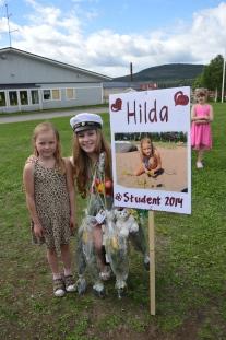 Alva är rätt lik sin mammas kusin Hilda va? ;-)