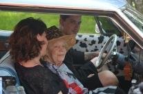 Tre generationer från Vaisk i Grelsbyn.