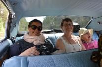 Katarina N, jag och Aina från Grelsbyn.