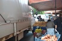 Matmarknaden i Aten.