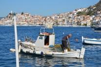 Fiskare på Poros
