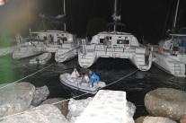 Anton har båttaxi på Hydra