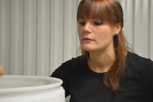 Frida Andersson, öltillverkare.