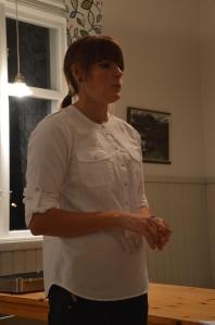 Frida Andersson berättar om sitt företag.