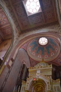 Synagogan, repad efter kommunismen.
