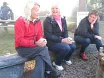 Ovärderliga jobbare på den fösta Hantverksveckan 2012.